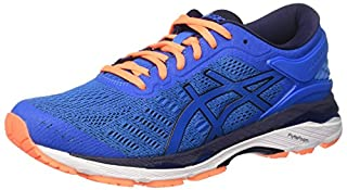 ASICS Men's Gel-Kayano 24 Running Shoes, Directoire Blue/Peacoat/Hot Orange, 6 UK 40 EU (B0716TC4CB) | Amazon price tracker / tracking, Amazon price history charts, Amazon price watches, Amazon price drop alerts