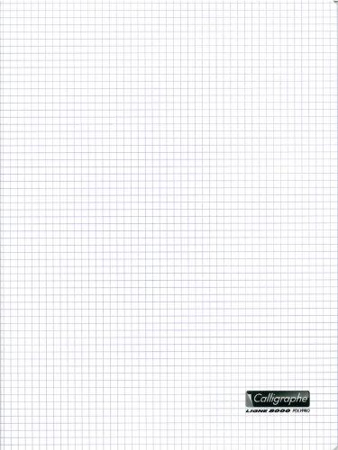 clairefontaine-24-x-32-cm-5-5-staple-bound-notebook-con-24-fogli-colore-trasparente
