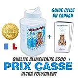 Bicarbonate de soude Alimentaire E500'Extra fin' - Saupoudreur 1Kg