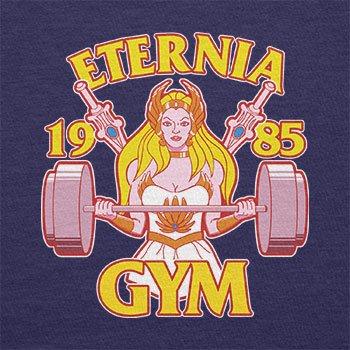 TEXLAB - She Fitness 1985 - Herren T-Shirt Navy