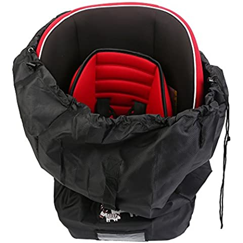 Puerta Compruebe bolsa para asientos de coche–IntiPal asiento de coche bolsa de viaje con correa para el hombro para avión puerta Compruebe Y Viajes