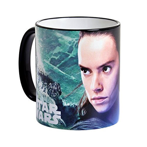 Star Wars Tasse The Last Jedi Rey von Elbenwald 320ml Keramik (Rebellen Kaffee)