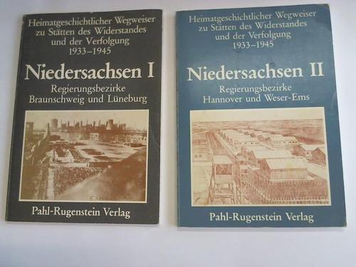 Niedersachsen I. Regierungsbezirke Braunschweig und Lüneburg/ Niedersachsen II. Regierungsbezirke Hannover und Weser-Ems. 2 Bände