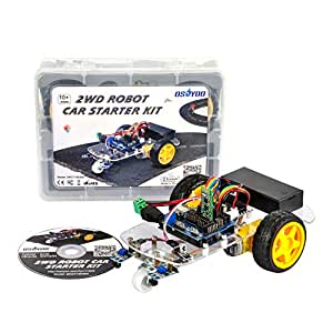OSOYOO 2WD Multi-Functional Robotic Electronic Car Starter Educational Model-X Motor Driver Kit