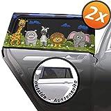 Baby parasole auto con protezione UV - 2 pezzi autoadesivo parasole auto per bambini e animali domestici
