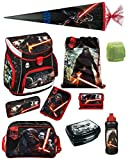Star Wars Schulranzen Set 10tlg. Scooli Campus Up mit Sporttasche GR und Schultüte / Zuckertüte 85cm SWHZ8252-GR