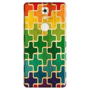 Mobo Monkey Designer Printed Back Case Cover for Gionee M6 (Texture :: Art :: Patterns :: Geometric :: Illustration)