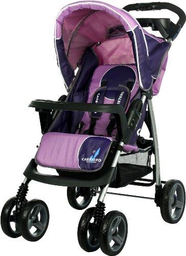 Caretero M00001731 Sport-Kinderwagen Monaco, rosa