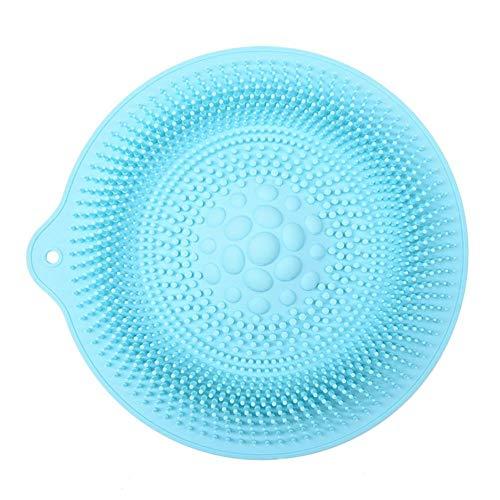 gaeruite Bad Fuss-Wäscher, Anti-Rutsch-Massage Silikon-Matte Dusche Fuss-Wäscher-Reinigungsmittel Massagematte für Zirkulation verbessern Dusche Fuß