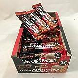 Power System LOW er Carb Protein Riegel (Erdbeer-Mandel, 18er Pack)