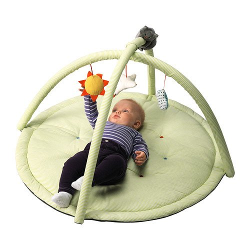 Gimnasio para bebé - IKEA LEKA, verde