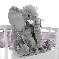 60cm Elephant Pillow Baby Elephant Stuffed Plush Toys Sleeping Cushion Kids Comfort Doll