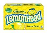 #7: LemonHead Original Lemon Candy Box, 142g