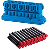 BOOMCo. Clip & Darts (blue 20 Dart Clip, blue/red Smart Stick Darts)