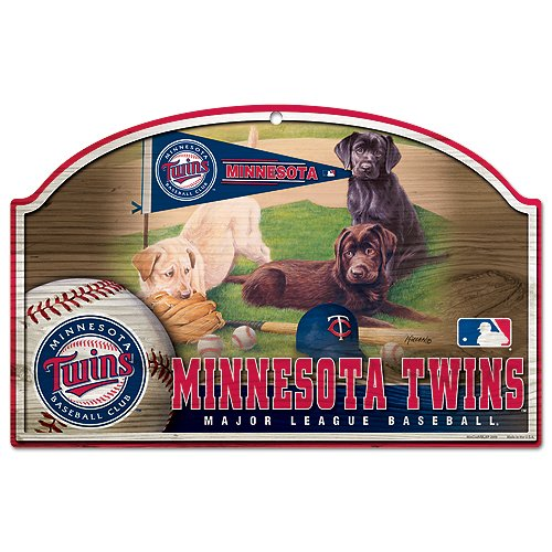 MLB Minnesota Twins 11-by-17-inch Killen Print Holz Schild Minnesota Twins-ausrüstung