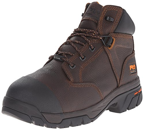 Timberland PRO Men's Helix Met Guard Work Boot,Brown,8 M US