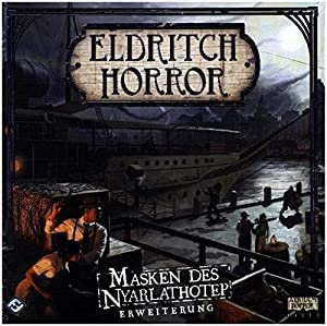 Fantasy Flight Games FFGD1030 Eldritch Horror Juguete, Multicolor
