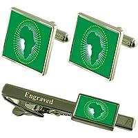 Unione africana bandiera gemelli incisi Clip Matching