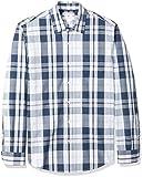 Edc by Esprit 126CC2K019, Camisa Manga Larga Hombre, Azul (Navy), Small amazon el-azul-marino Primavera/Verano