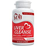 NEW Natural Liver Cleanse and Detox Capsules, Advanced Formula Aids Liver Function, Cleansing & Repair. 13 Potent Ingredients Inc Turmeric, Artichoke, Dandelion & Ginger. 120 Vegan Tablets. Made in UK