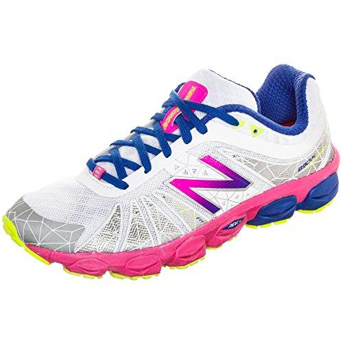 New Balance W890 B V4 Damen Laufschuhe Blanco / lila / pink