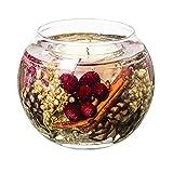 Glas Seasonal???Muskat, Ingwer & Spice nat?rliches Wachs Fischglas