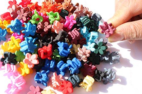 adiasen 100Mix Farbe Mini Pony Frauen Mädchen Haar Clip Haarspangen Haarklammer Haar Zubehör