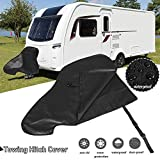 boastvi Caravan Tow Hitch Cover Motorhome Towing Hitch Cover, Waterproof Reinforced PVC UV