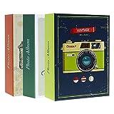 Lote de 3 álbumes de Fotos con Fundas para 200 Fotos de 10 x 15 cm por álbum