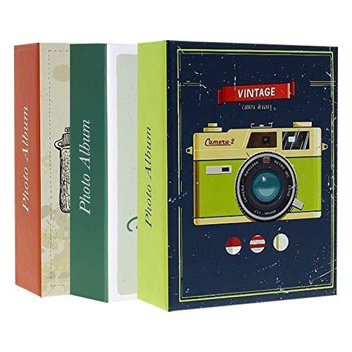 Lote 3 álbumes Fotos Fundas 200 Fotos 10 x 15 cm