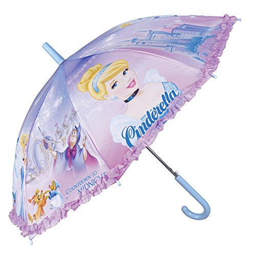 Princesas Disney Paraguas Niña Largo Volantes - Paraguas