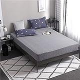 PENVEAT 1 stücke 100% Polyester Druck Bett matratze Set mit Vier Ecken und Gummiband blätter heißer, heibaitiao, 80X200X25 cm