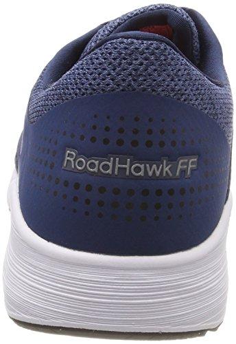 Asics Roadhawk Uomo Scarpe Da Corsa Ff Multicolore (blu Scuro Bianco Nero)