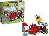 LEGO DUPLO Löschfahrzeug Feuerwehr Spielzeug Spiele Bildung Lernen Spielzeug Spiel Idee Geschenk Weihnachten # AG17