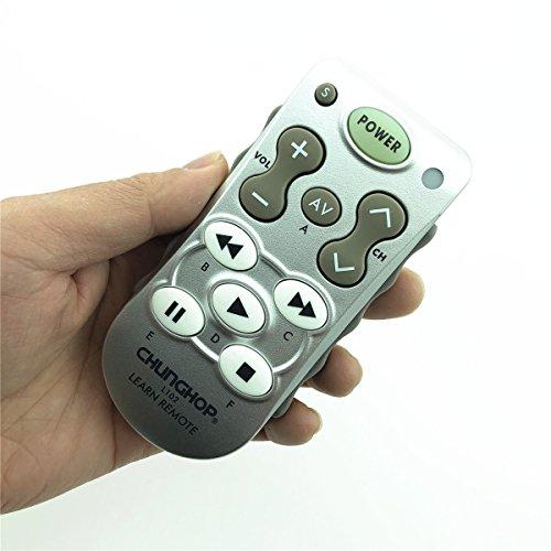 CHUNGHOP L102lernen, Fernbedienung nutzen für TV/SAT/DVD/CBL/CD/DVB-T für Samsung LG Sony Philips Copy