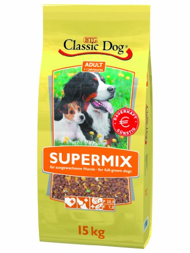 Classic Dog 40026 Supermix 15 - Hundefutter Dog Classic