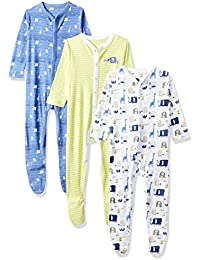 Mothercare Baby Boys' Sleepsuit (Pack of 3)