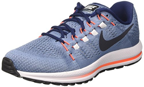 Nike Men's Air Zoom Vomero 12 Blue Running Shoes(863762-403) (UK-8 (US-9))  available at amazon for Rs.12495