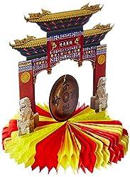 Beistle 50302Asiatisches Gong Mittelpunkt, 9Zoll
