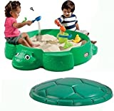 Little Tikes Turtle 4' Round Sandbox with Cover by Little Tikes by Little Tikes