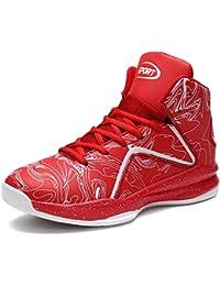 release date: 24145 4eb5b LANSEYAOJI Homme Baskets de Basket-Ball Légères Antidérapantes Chaussures de  Course Mode Sneakers High-