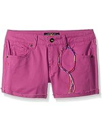 Lucky Brand Girls' Riley Slub Twill Short