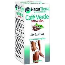 Naturtierra Café Verde sin Cafeína - 30 Cápsulas ...
