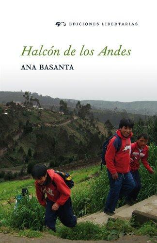 Portada del libro Halcón de los Andes