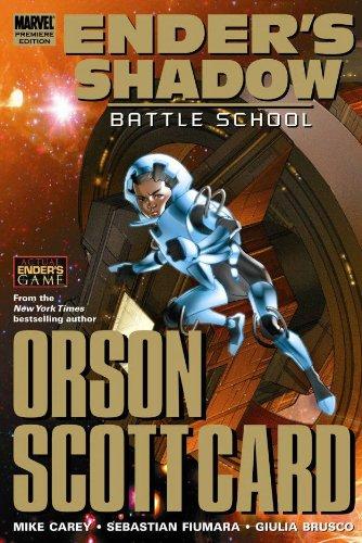 Ender's Shadow: Battle School Premiere HC (Ender's Game Gn)