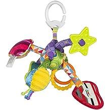 """Lamaze Baby Spielzeug """"Knuddelknoten"""" Clip & Go - hochwertiges Kleinkindspielzeug - Greifling Anhänger - ab 0 Monaten"""