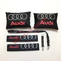 Audi Siyah Boyun Yastık Seti