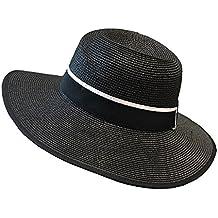 895620d2b26fb Sombrero para el sol LHA Sombrero de Playa de Moda protección Solar Sombrero  de Panamá (