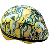 Minions Kid's Helmet Adopted for Age 5 Years and Above (MBE-MIN260, Yellow)