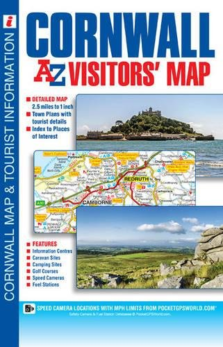Cornwall Visitors Map Cover Image